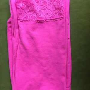 one step up Accessories - Neon Pink Leggings